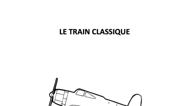le train classique COUVERTURE